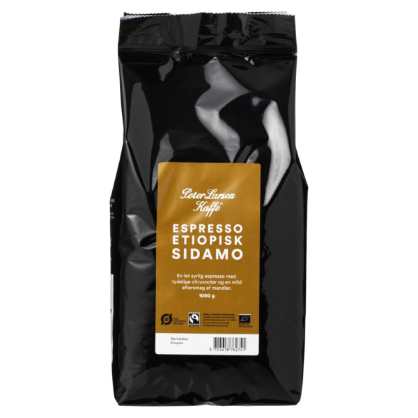 Peter Larsen Espresso Etiopisk Sidamo Kaffe